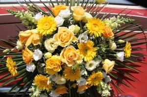 Kwiaty kurieriem