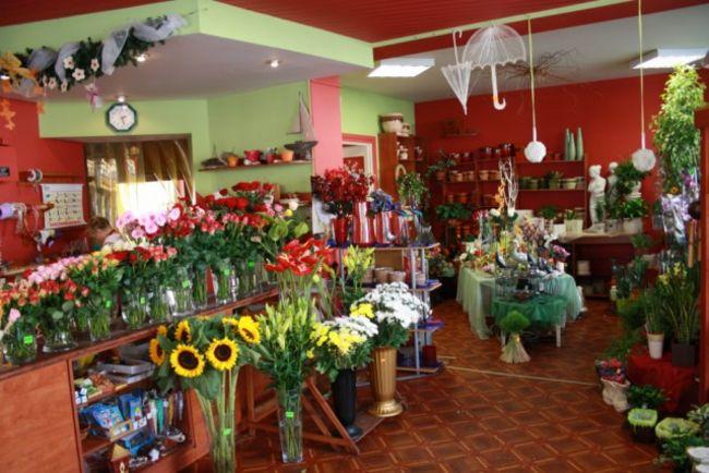 Zielone dodatki florystyczne