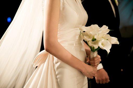 Modne bukiety ślubne