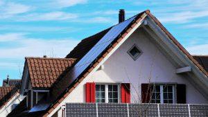 Ładny dach z blachy